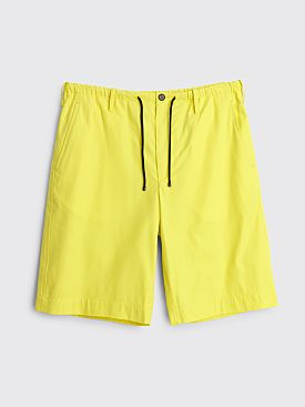 Dries Van Noten Penny Shorts Lime