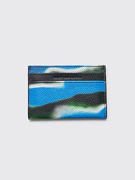 Dries Van Noten Len Lye Card Holder Blue