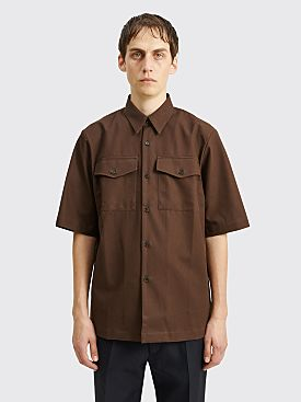 Dries Van Noten Claseni Shirt Brown