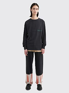 Eckhaus Latta Wide Leg Jean Tri Stacked