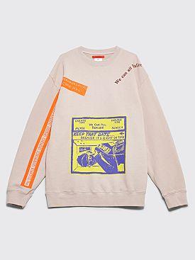 Eckhaus Latta Sweatshirt Dust Grey