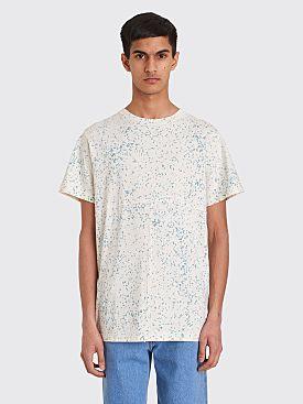 Eckhaus Latta Lapped T-shirt Terrazzo White