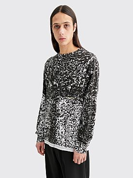 Eckhaus Latta Lapped Long Sleeve T-shirt Astrakhan