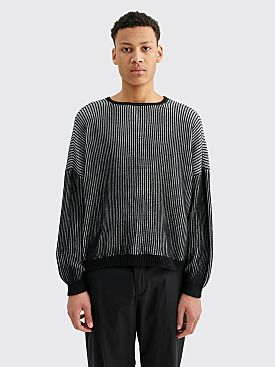 Eckhaus Latta Spine Sweater Dawn And Black