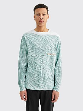 Eckhaus Latta Lapped Long Sleeve Shadow Dye