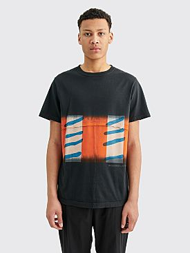 Eckhaus Latta Lapped Tee Flag Stripe
