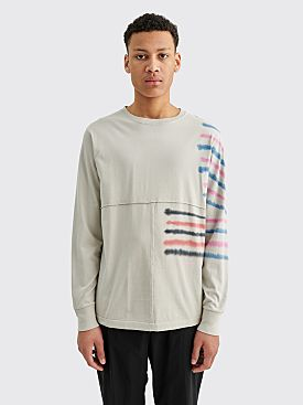 Eckhaus Latta Lapped Long Sleeve Step Stripe
