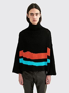 Eckhaus Latta Horizon Sweater Deep Sea