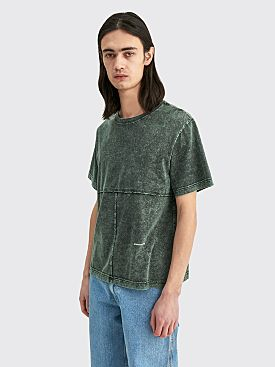 Eckhaus Latta Lapped Tee Sea Smoke