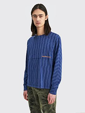 Eckhaus Latta Lapped Long Sleeve Tee Static