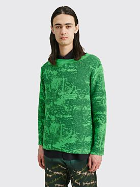 Eckhaus Latta Poison Sweater Fern