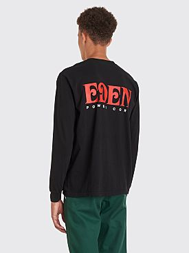 EDEN Power Corp Logo LS T-shirt Black