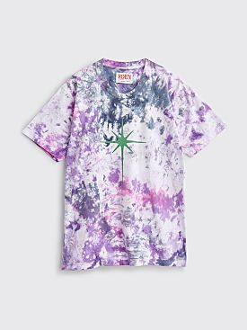 EDEN Power Corp Shining Star Tie Dye T-shirt Purple