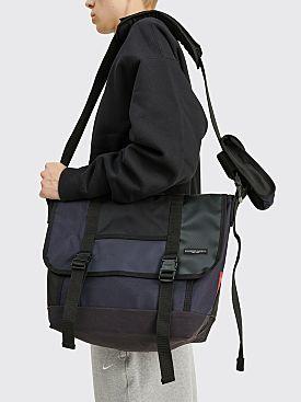 Engineered Garments x Pilgrim Surf Supply x Manhattan Portage Messenger Bag Navy Mix