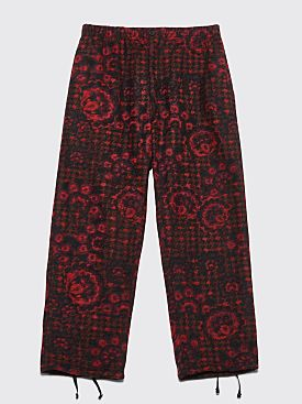Engineered Garments Jog Pant Floral Red / Black