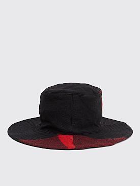 Engineered Garments Crusher Hat Red / Black