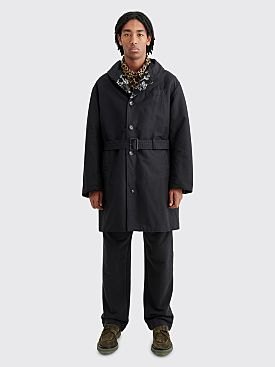 Engineered Garments Reversible Coat Double Cloth Black