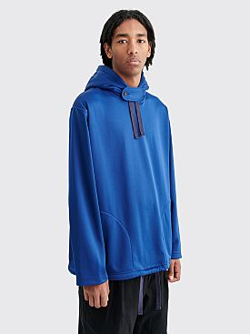 Engineered Garments WCT Fleece Hooded Sweater Blue