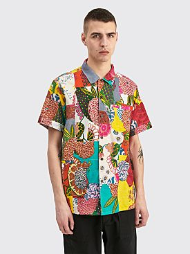 Engineered Garments Camp Shirt Multi Color Floral Patchwork