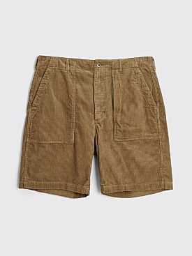 Engineered Garments Fatigue Short Khaki