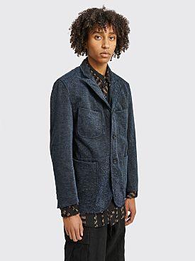 Engineered Garments NB Jacket Navy Black Paisley