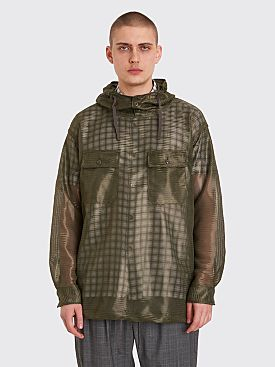 Engineered Garments Cagoule Daytona Mesh Olive