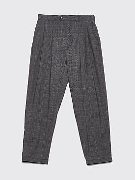Engineered Garments Emerson Pants Tropical Wool Glen Plaid Grey