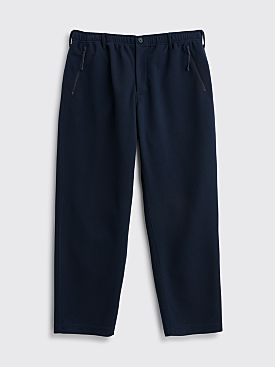 Engineered Garments Leisure Pants Diamond Knit Navy