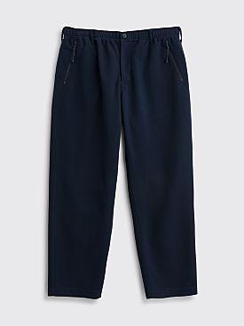 Engineered Garments Leisure Pants Diamond Knit Navy