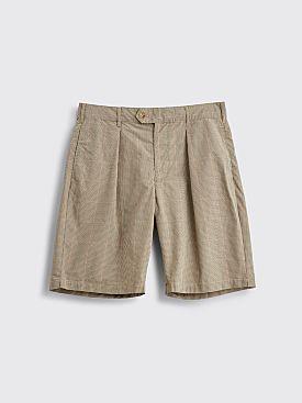 Engineered Garments Sunset Shorts Checkered Khaki