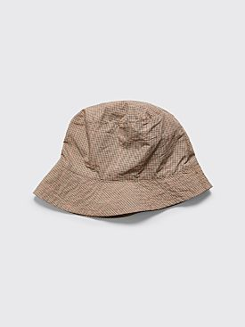 Engineered Garments Bucket Hat Checkered Khaki