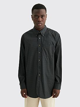 Engineered Garments 19 Century BD Shirt Broadcloth Argyle Black Grey