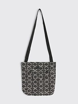 Engineered Garments Shoulder Pouch Natural PC Geo Jacquard Black