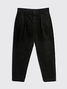 Engineered Garments Carlyle Pant Hi-Lo Corduroy Black