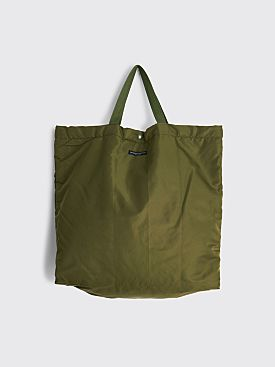 Engineered Garments Carry All Tote Flight Satin Nylon Olive