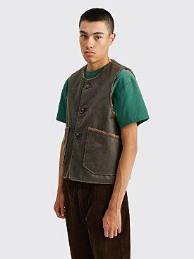 Engineered Garments Over Vest Dark Olive