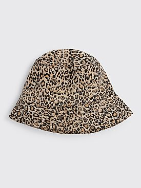 Engineered Garments Bucket Hat Beige Leopard