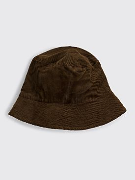 Engineered Garments Bucket Hat Brown Corduroy