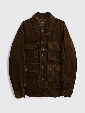 Engineered Garments Explorer Shirt Jacket Brown