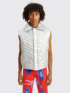 ERL Puffer Vest Silver