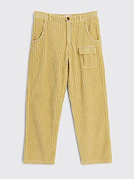ERL Corduroy Wide Leg Pants Beige