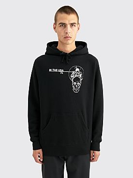 Fucking Awesome In The Usa Hooded Sweatshirt Black