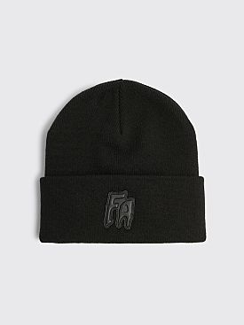 Fucking Awesome FA Applique Cuff Beanie Black