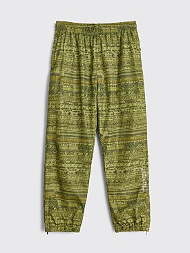 Fucking Awesome Stacked Track Pants Green
