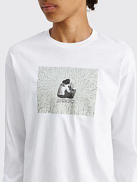 Fucking Awesome Face Embrace Longsleeve T-shirt White