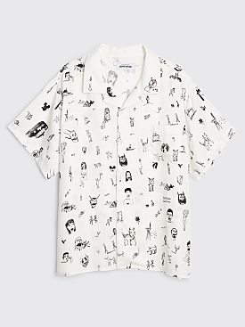Fucking Awesome Dill Drawings Club Shirt White