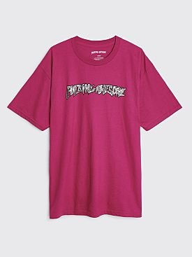 Fucking Awesome Acupuncture T-shirt Berry