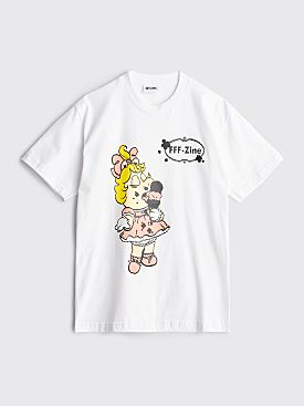 FFF Zine Piggy T-shirt White