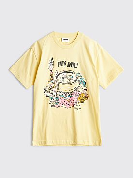 FFF Zine Fun Due T-shirt Yellow