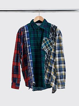 Rebuild by Needles 7 Cuts Flannel Shirt Size M